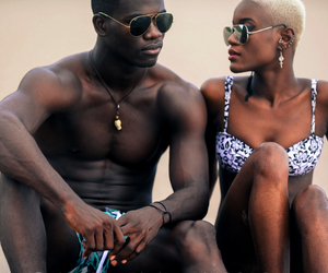 African, couple, and love image