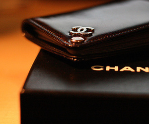 chanel, black, and luxury image