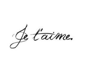 love, je t'aime, and quotes image