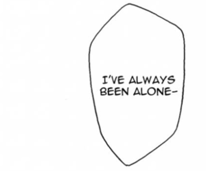 alone, manga, and quote image