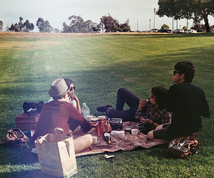 park and friends image