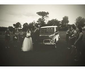 bridesmaid, couple, and wedding image