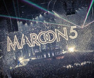 maroon 5, concert, and music image