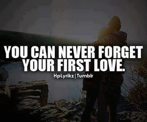 love, first, and forget image