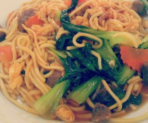 food, noodle, and school image