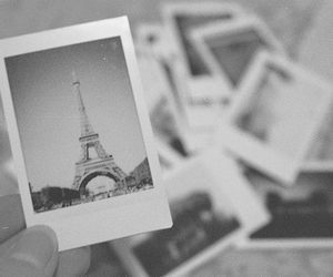 black and white, paris, and photography image