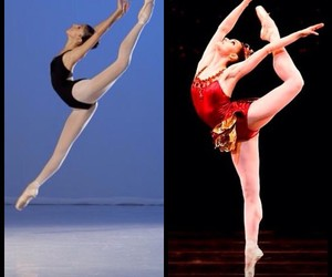ballet, flexible, and dance image
