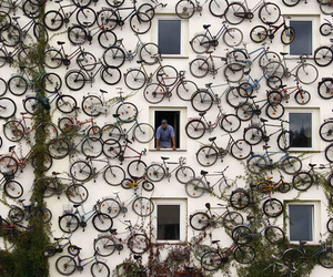 bike, bicycle, and art image