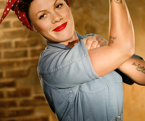 pink, P!nk, and strong image