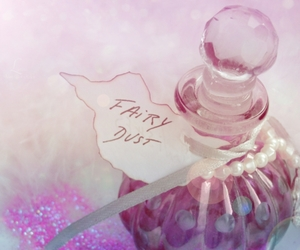 fairy, pink, and fairy dust image
