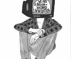 generation, tv, and art image