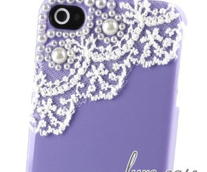 classy, ladylike, and pearl iphone 4 case image