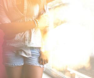 girl, fashion, and light image
