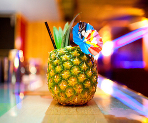 drink, pineapple, and summer image