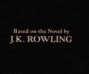 book, harry potter, and jkrowling image