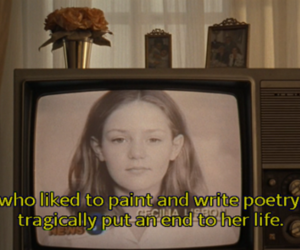 the virgin suicides, poetry, and virgin suicides image