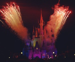 beautiful, castle, and fogos image