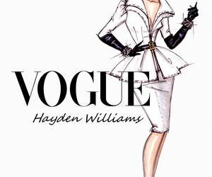 vogue, hayden williams, and white image