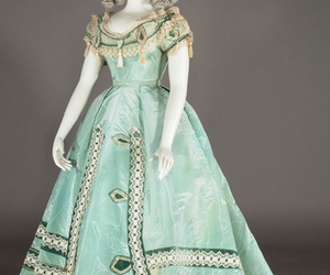 evening dress and 1865 image