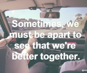 quote, apart, and together image