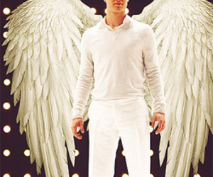 angel, glee, and darren criss image