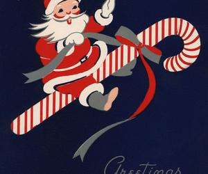 christmas, santa, and vintage image