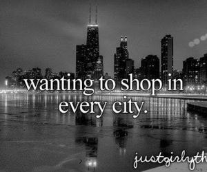 shopping, city, and text image