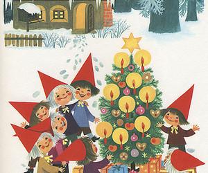adorable, christmas tree, and illustration image