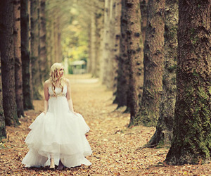 girl, wedding, and cute image