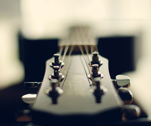 music, Dream, and guitar image