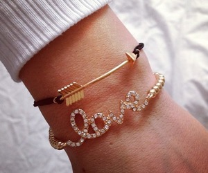 bracelet, cute, and love image