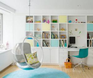 room and books image