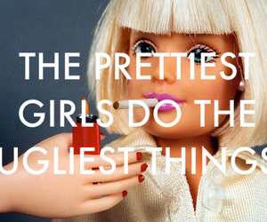 barbie, ugly, and girls image