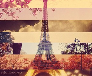 beautiful, Collage, and eiffel tower image
