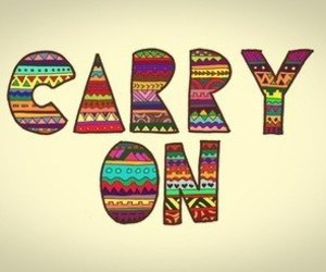 carry on, quotes, and text image