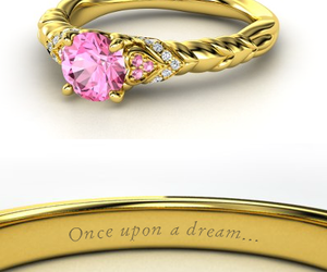 ring, disney, and pink image