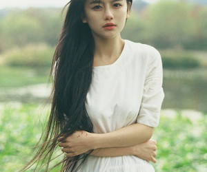 asian, beutiful, and girl image
