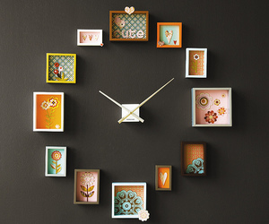 clock, wall, and time image