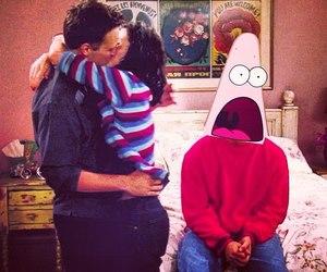 chandler, Courteney Cox, and Jennifer Aniston image