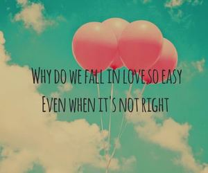 love, quote, and balloons image