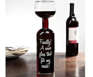 wine, glass, and funny image