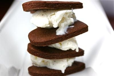 Cookies and ice cream image