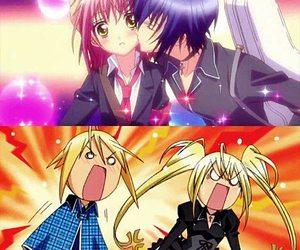 shugo chara, anime, and kiss image