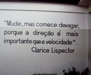 clarice lispector, text, and frases image