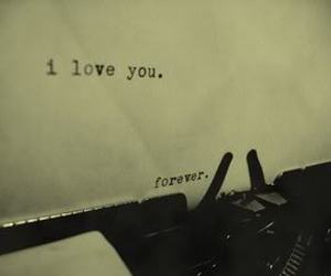 love, forever, and I Love You image