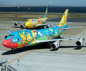 pokemon, airplane, and plane image