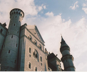 castle, photography, and vintage image