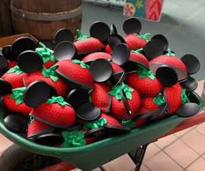 disney and strawberry image