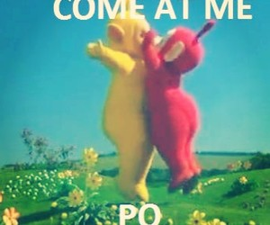 funny, teletubbies, and po image