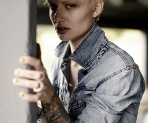 androgyny, boyish, and fashion image